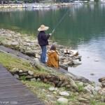 鯉魚潭-釣客