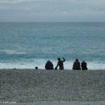 七星潭-那坐在岸邊的遊客也在讚嗎?!