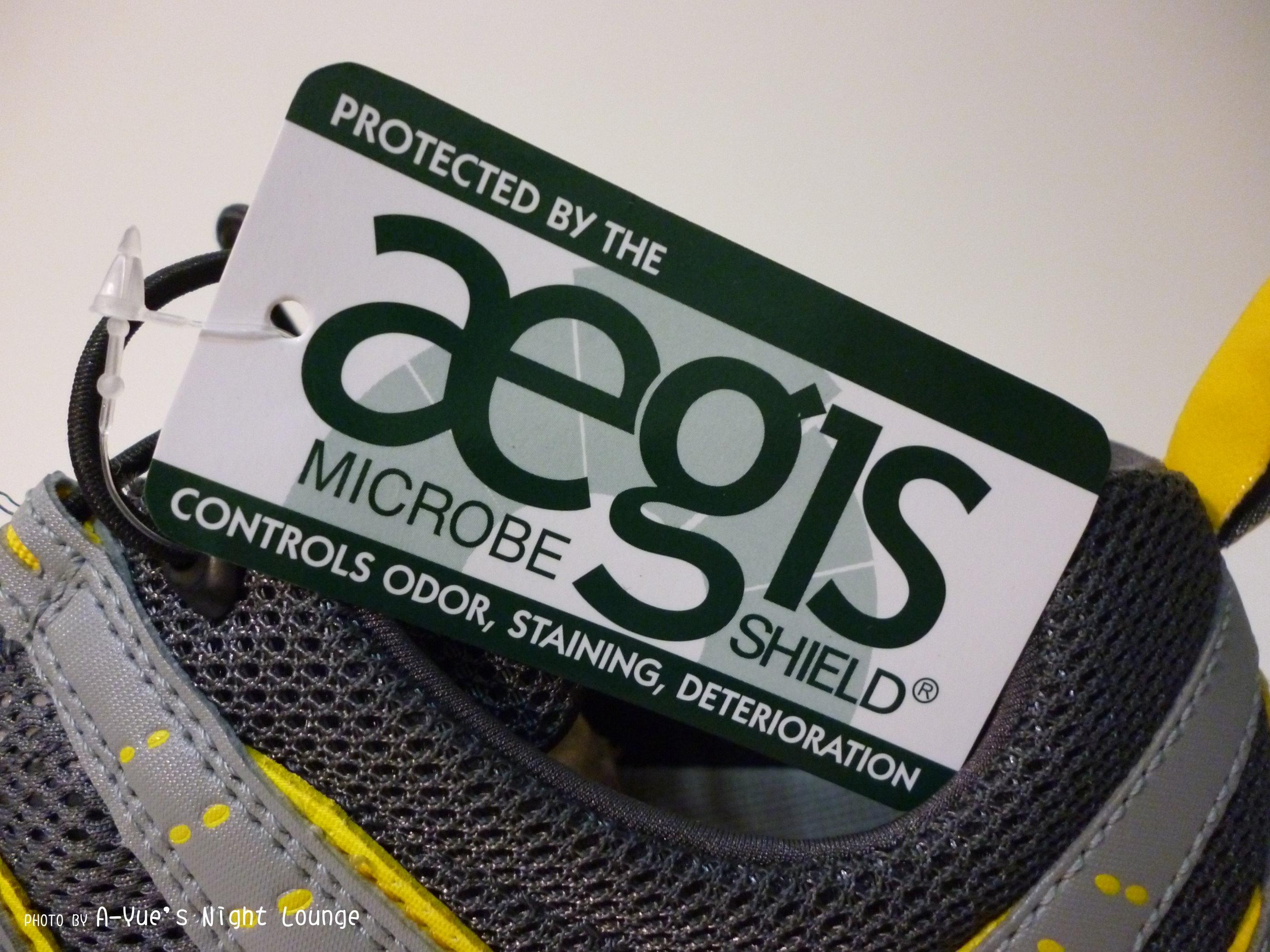 aegis專業防臭抗菌材質