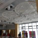郭元益綠標生活館 天花板裝飾