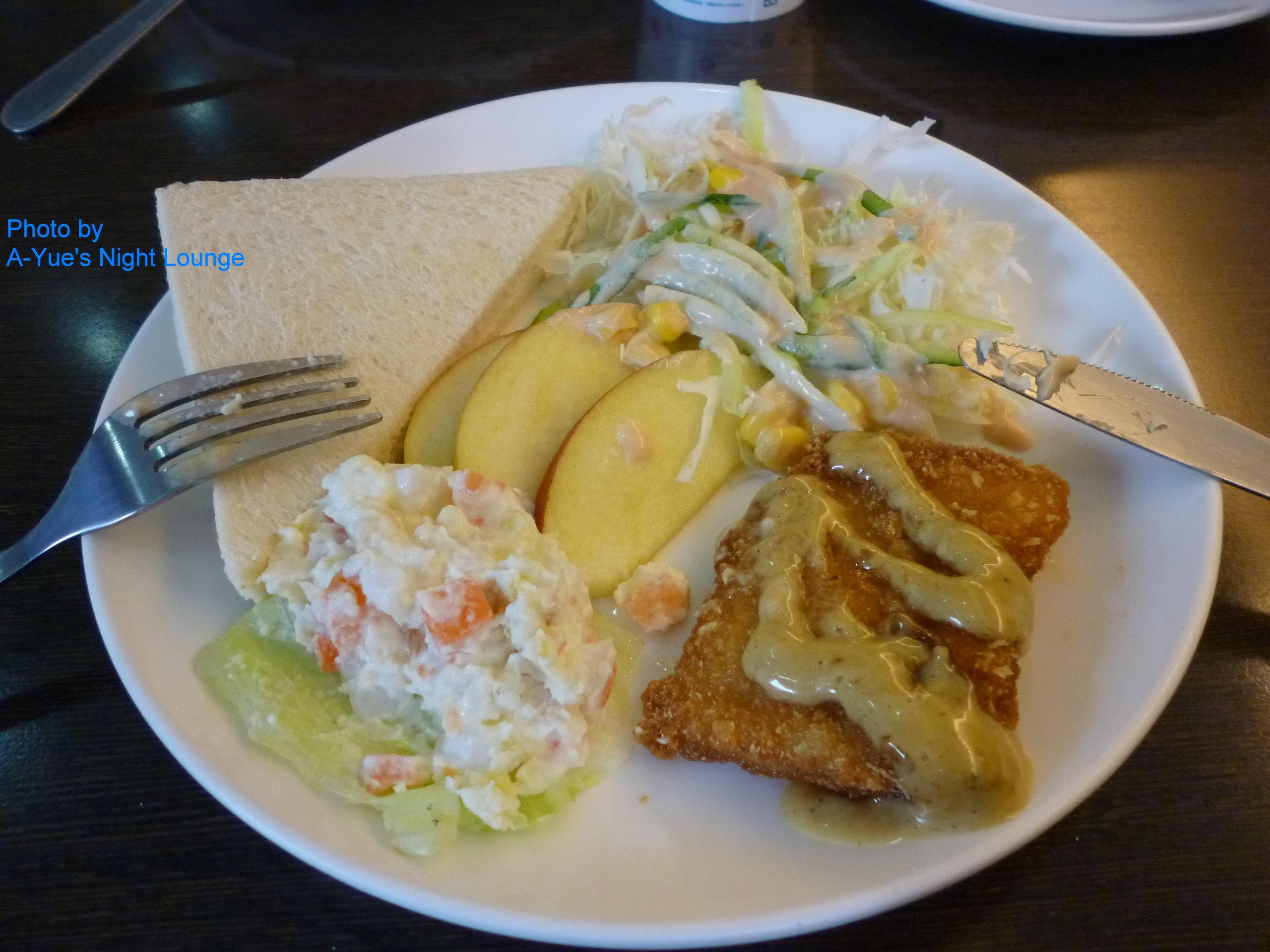 南洋魚排拼盤