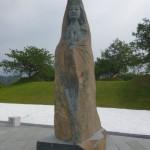 菩薩石雕像 1