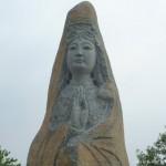 菩薩石雕像 2