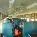 乳牛的家 懷舊火車箱餐廳 內裝