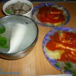 羅東夜市 阿桐 蚵仔煎、虱目魚湯、藥膳羊肉