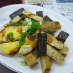 小菜 豆干、豬血糕、魯蛋