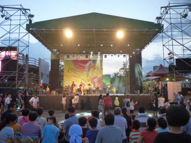 2013羅東藝穗節8月10日開場 台上台下互動歡唱