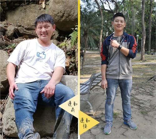心率運動App當教練,半年瘦身25公斤:發弟
